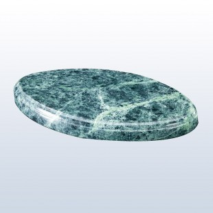 Marble Oval Base