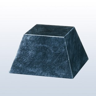 Black Marble Pyramid Base