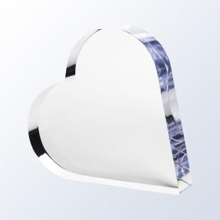 Acrylic Heart Plaque