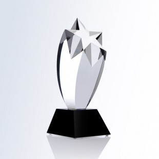 Rising Star Award - Black Square Base