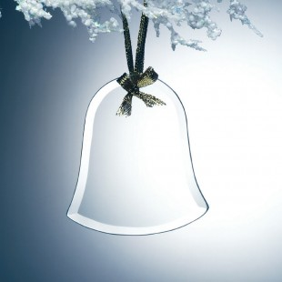 Glass Bell Ornament