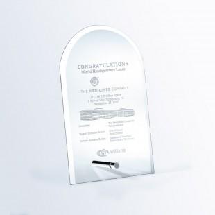 Beveled Arch w/ Aluminum Pole