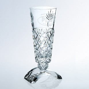 Ischia Vase w / Clear Base