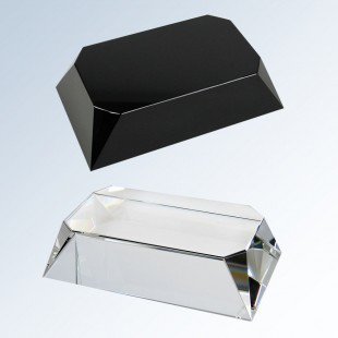 Beveled Rectangle Four Sided Slant Base