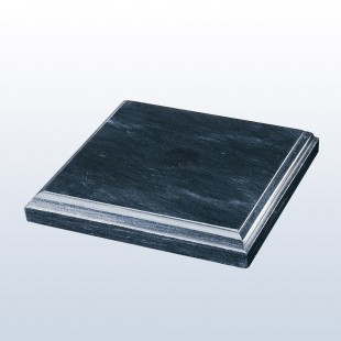 Black Marble Square Base