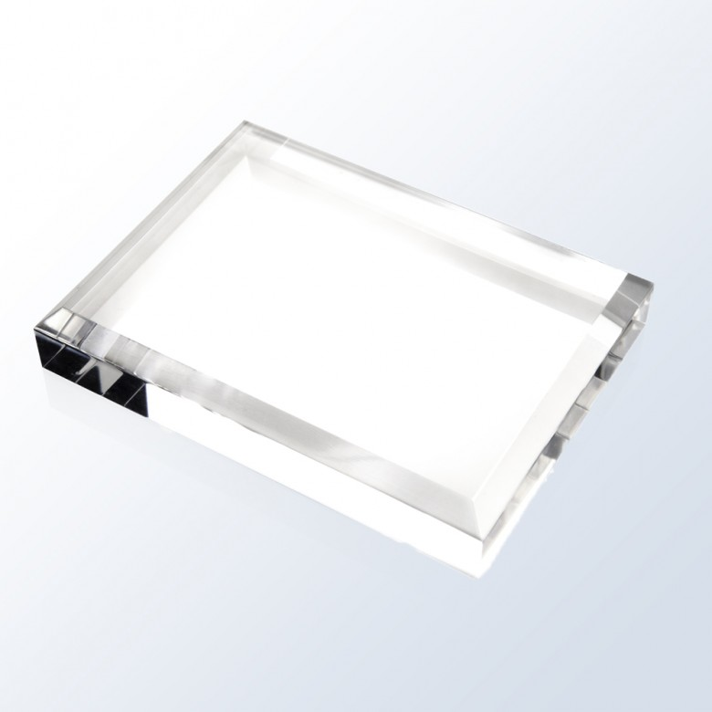 Acrylic Beveled Base