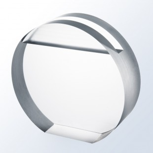 Acrylic Circle Business Cardholder