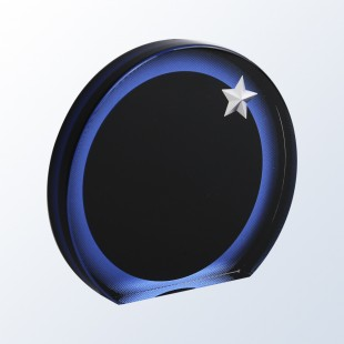 Acrylic Circle Star Award