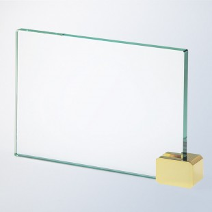 Achievement Award W/ Brass Rectangle Holder