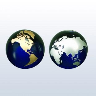 Cobalt Blue Globe
