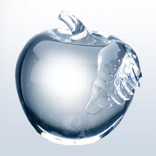 Apple w/ Clear Leaf