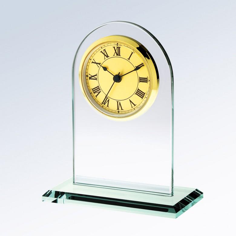 Arch Clock-Gold Roman
