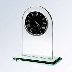 Arch Clock-Black Movement