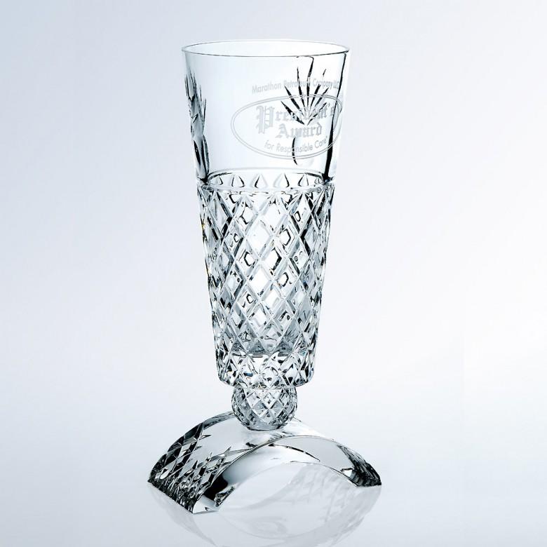 Ischia Vase w / Clear Base