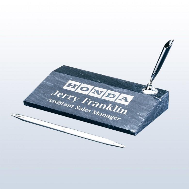 Single Pen Set-Silver