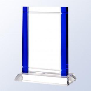 Blue Deco W/ Crystal Base