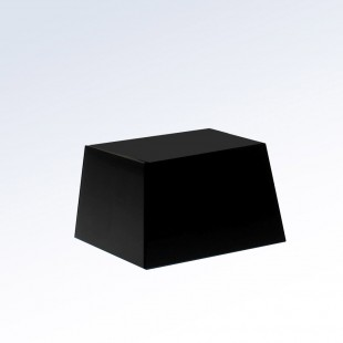 Black Crystal Slant Square Base