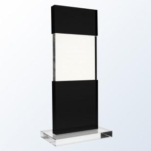 Black Tiered Post
